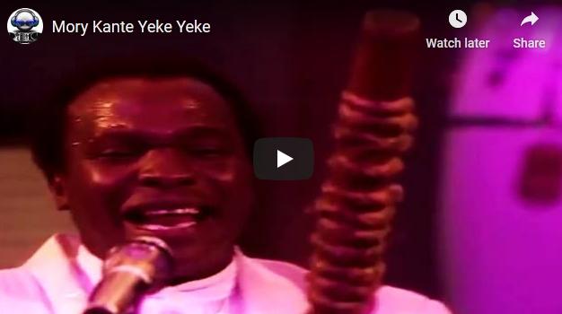 "Африканската музичка легенда Мори Канте, најпознат по хитот ""Јеке Јеке"" почина на 70 годишна возраст"
