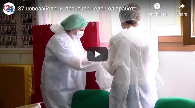24.05.2020 – 37 новозаболени, позитивен еден од вработените во старечки дом во Скопје