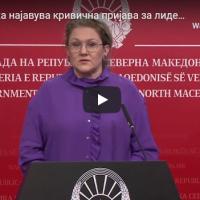 Петровска најавува кривична пријава за лидерот на ВМРО-ДПМНЕ Мицкоски