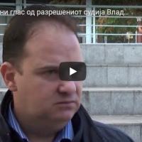 Ни трага ни глас од разрешениот судија Владимир Панчевски