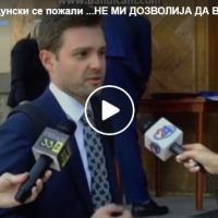 Тимчо Муцунски се пожали ...НЕ МИ ДОЗВОЛИЈА ДА ВЛЕЗАМ СО ТРОТИНЕТОТ...