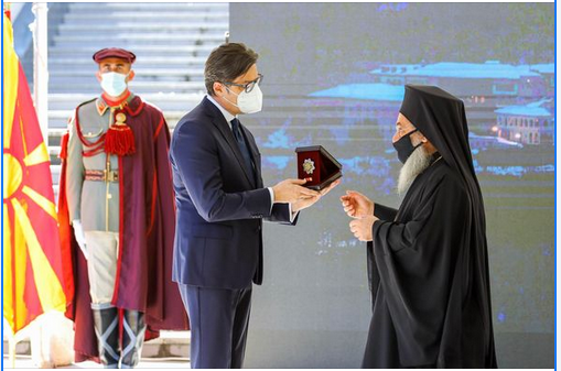 """""""Орден за заслуги за државата"""" денеска доби Бигорскиот манастир """"Св. Јован Крстител"""", по повод 1000-годишнината од неговото основање"""