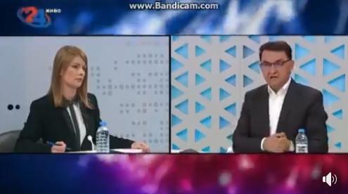 """ВО ДПМНЕ НЕ ЗНААТ КАДЕ ТЕРААТ… Во ист ден, на иста телевизија: За Маркоски ова """"не е опасна болест"""", за Славески """"ова е здравствена катастрофа""""!"""
