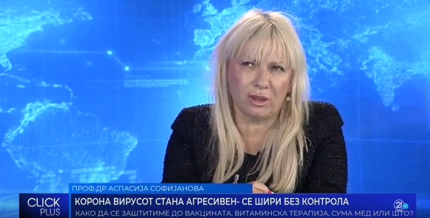 Софијанова: Вирусот може да остане во воздухот 4-6 часа
