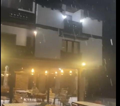 (ВИДЕО) Падна првиот снег во Маврово и на Пелистер