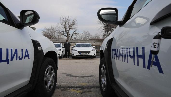 Германска донација: Граничната полиција доби 22 возила и техничка опрема