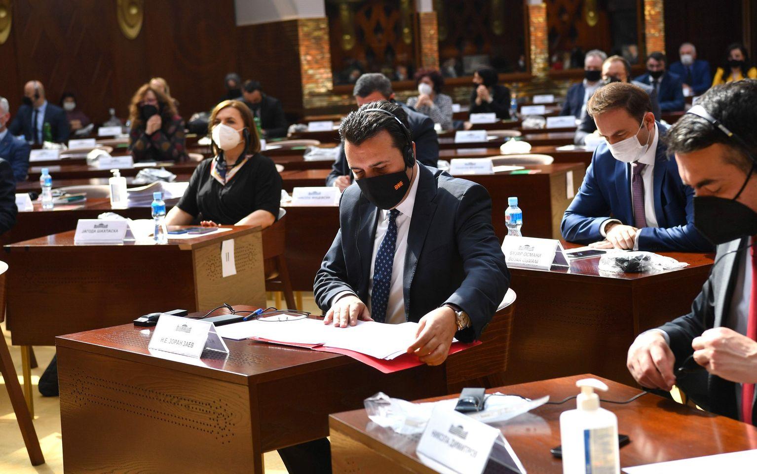 Претседателот на Владата на Република Македонија, Зоран Заев, објави нови инвестиции во државава, на седницата за пратенички прашања во Парламентот