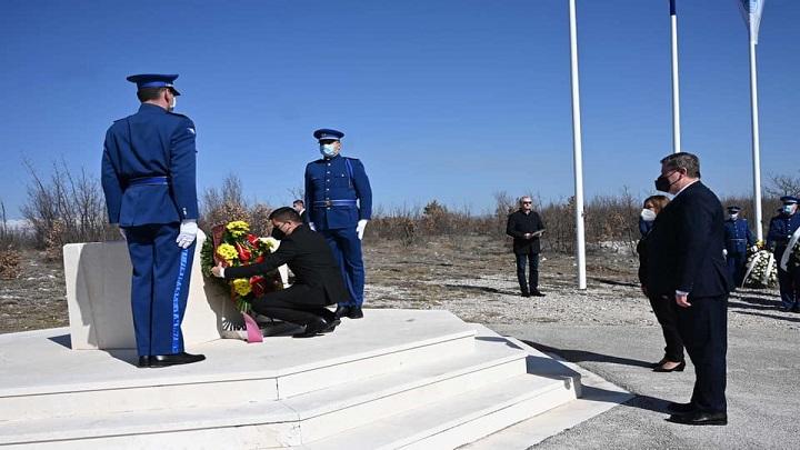 (ВИДЕО) Николовски на одбележувањето на 17-годишнината од смртта на претседателот Трајковски во Ротмиље, БиХ: Визијата на Трајковски се остварува