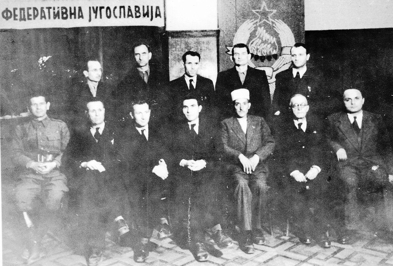 На денешен ден …16 април 1945 година е избрана првата Влада на Демократска Република Македонија…