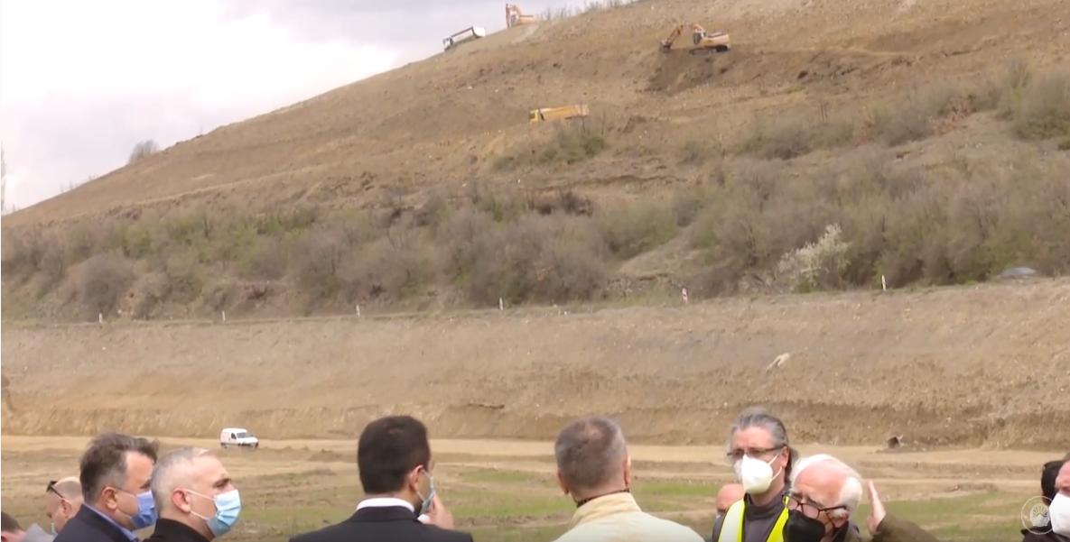 Груби, Бочварски и Рустеми на увид на изградба на автопат Скопје-Блаце